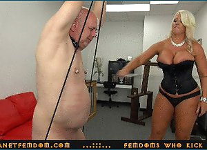 Goddess Alura ..::.. Pathetic old fuck is bringing not enough money so he must be punished and disdained ..::.. SUPER HD