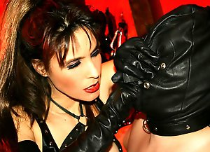 The Leather Gloved Goddess