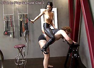 Mistress tight rein control on ponyboy